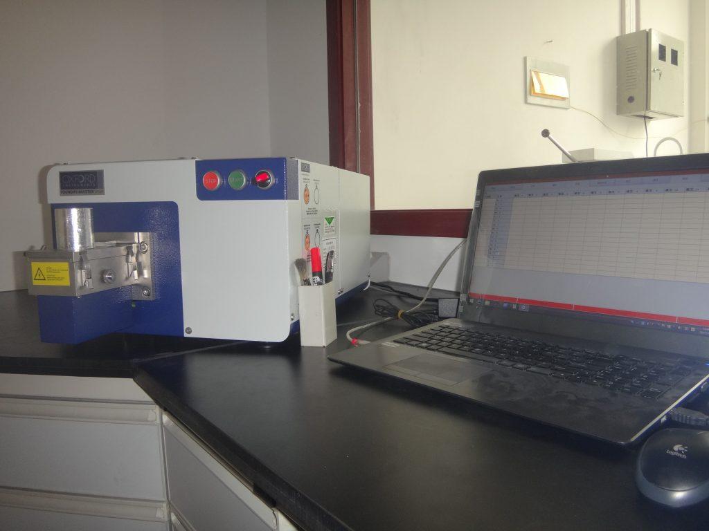 Espectrómetro para control de calidad en China