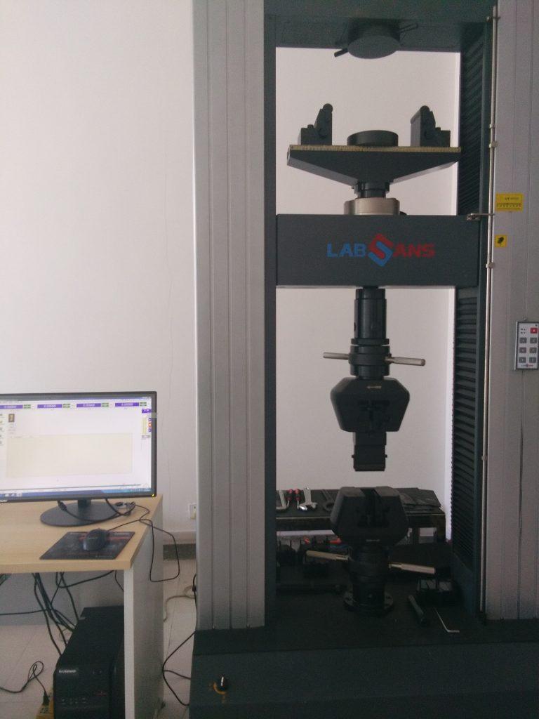 Test de Rotura 30Tn para control de calidad en china